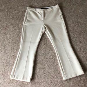 Theory Cream Colored Dress Pants